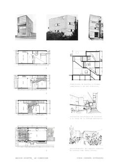 villa savoye plan drawings bamboo structure pinterest architektur. Black Bedroom Furniture Sets. Home Design Ideas