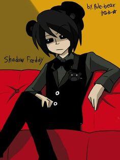 Shadow Freddy is my favorite pole - bear character from fnaf! Freddy S, Fnaf Golden Freddy, Five Nights At Freddy's, Fnaf Pole Bear, Human Shadow, Animatronic Fnaf, Nanbaka Anime, Fnaf Night Guards, Fnaf Sister Location