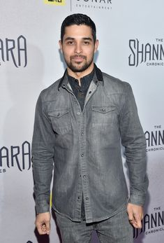 Wilmer Valderrama attends the premiere of MTV and Sonar Entertainment's 'The Shannara Chronicles'