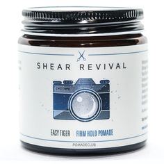 Shear Revival Easy Tiger Firm Hold Pomade 4oz