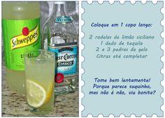 PANELATERAPIA - Blog de Culinária, Gastronomia e Receitas: Citrus com Tequila