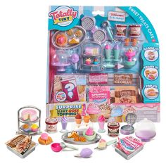 Barbie Food, Doll Food, Barbie Dolls, Mini Things, Cool Things To Buy, Shopkins Happy Places, Sweet Cafe, Made To Move Barbie, Baby Doll Accessories