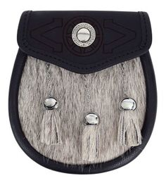 The Celtic Croft has one of the largest selections of sporrans and kilt accessories. Sporrans range from basic and affordable to the highest quality. Great Kilt, Kilt Accessories, Kilt Belt, Celtic Knot Designs, Scottish Kilts, Medicine Bag, Plaid Pattern, Emboss, Black Leather
