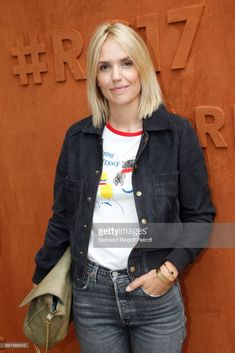 Actress Laurence Arne attends the 2017 French Tennis Open - Day Six at Roland Garros at Roland Garros on June 2, 2017 in Paris, France.