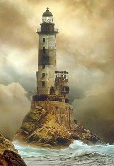 Russian lighthouse. Breathtaking.