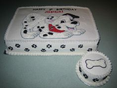 My First Dalmatian B-Day!!! on Cake Central
