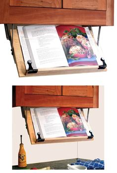 Beau Under Cabinet Ipad/cookbook Holder   Cutting Boards And Cheese Boards    Pinterest   Counter Space, Cookbook Holder And Kitchens