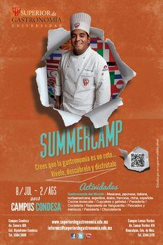 Summercamp en el Superior de Gastronomía / 8 Jul 2 Ago 2013 / #DF