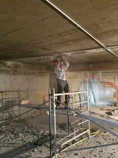 RÉPARATION INTRADOS; Réfection de béton stationnement intérieur. 1855 613 4773. www.betonuniversel.com