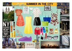 """SUMMER IN NYC"" by andrea-tatis on Polyvore"