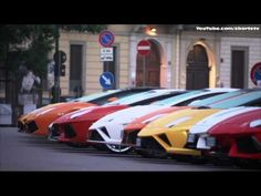 Lamborghini 50th Anniversary Grand Tour Rome 1080P HD Video