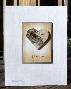 A heart of Birch-bark