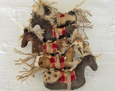 Primitive Horse Smalls Small Horses by cavecreekprimitives on Etsy, $25.00