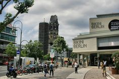 BERLIN 2014   #WestBerlin #BikiniBerlin #Kurfürstendamm