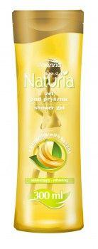 Żel pod prysznic z bananem Naturia body przeznaczony jest do skóry normalnej, wymagającej oczyszczenia i odświeżenia.