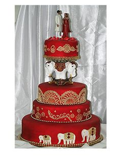 102 Best Indian Wedding Cakes Images On Pinterest Birthday Cakes