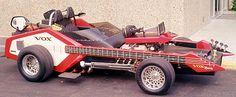 Custom muscle car, Voxmobile guitar auto