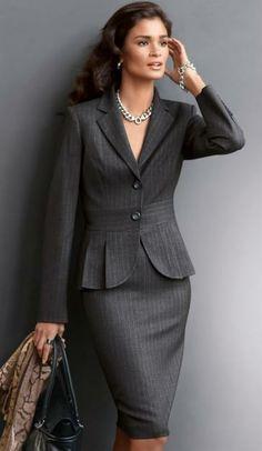 d0cea1f31 Las 62 mejores imágenes de Ropa Ejecutiva para Damas   Business ...