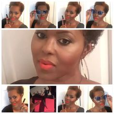 Author Nurisha Liggins wearing out Liquid Matte Stick called gossip. Visit us on the web www.thesherellshop.com