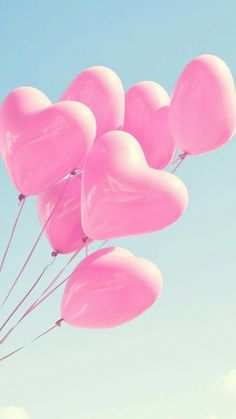 Image shared by Sony Domm. Find images and videos about pink, heart and wallpaper on We Heart It - the app to get lost in what you love. Pink Love, Cute Pink, Pretty In Pink, Phone Backgrounds, Wallpaper Backgrounds, Heart Balloons, Pink Balloons, Glitter Balloons, Wedding Balloons