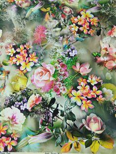 Fabric Print Design, Flower Art, Art Flowers, Vector Flowers, Couture Details, Scarf Design, Love Images, Amazing Flowers, Textures Patterns