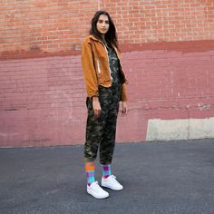 Beloved by bearded lumberjacks and global fashion icons alike, the classic Lumberjack pattern is a true fall/winter-essential. Who says winter socks hav. Winter Socks, Happy Socks, Style Icons, Parachute Pants, Fall Winter, Dress Up, Bomber Jacket, Women's Socks, Jackets
