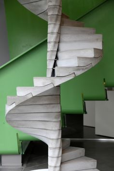 "Matter Design's ""Helix"" Stair Takes Concrete to the Next Level"