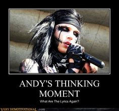 funny andy biersack pictures - Google Search