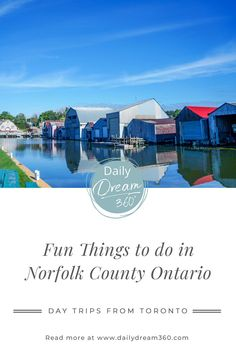Looking for day trips from Toronto? We have a list of things to do in Norfolk Country Ontario including beaches, farm shops, wine tastings and outdoor adventures. I Ontario travel I Toronto day trip ideas I Ontario road trips I road trips in Ontario I places to go in Ontario I #Ontario #Norfolk Norfolk County, Ontario Travel, Canada Travel, Travel Usa, Montreal Travel, Alberta Travel, Vancouver Travel, Day Trips, Canada Destinations