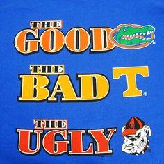 "Florida Gators ""The Good, The Bad, The Ugly"" T-shirt"