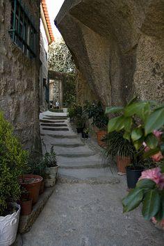 "Narrow alleys of Monsanto,  Portugal"""