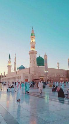 Masjid Haram, Al Masjid An Nabawi, Mecca Madinah, Mecca Masjid, Mecca Wallpaper, Islamic Wallpaper, Ocean Wallpaper, Islamic Images, Islamic Pictures
