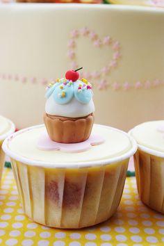 cupcake on cupcake from baa baa bake via Flickr.