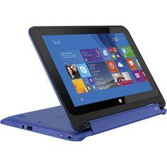 "Hp Stream X360 11-P010NW 11.6"" TouchScreen 2-in-1 Laptop - Windows 8.1 - Intel Celeron N2840 Dual-Core - 2GB RAM - 32GB eMMC - Blue - KSh 42,099"