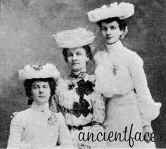 Margaret, Anna and Jennie Deditz, the daughters of Joseph Deditz of Spring Grove Township in Linn County, Iowa.