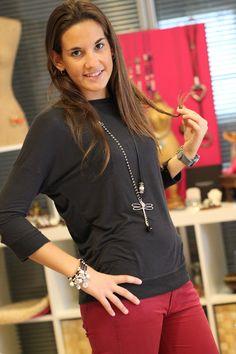 Josune de Mi moda me quiere con el Collar de Libelula Cadiz de MAR BCN, ver aquí:  http://www.marbcnshop.com/es/collares/56-collar-cadiz.html