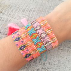 beaded armparty  - Nueve Musas