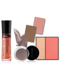 For the bride who loves an ethereal radiance to her makeup. She likes a healthy glow and wants to softly play up her eyes, skin, cheeks, lips and brows. She loves balance and likes that all her features are enhanced in a cohesive way. Set includes: Mary Kay® Cream Eye Color in Metallic Taupe Mary Kay® Mineral Eye Color in Precious Pink and Driftwood Mary Kay® Cheek Color Duo in Juicy Guava Nourishine Plus® Lip Gloss in Café au Lait Consider also using TimeWise® Luminous-Wear® Liquid…