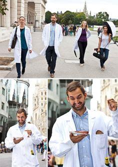 Have some Würschtl! Entourage, Life Science, Coat, Jackets, Fashion, Down Jackets, Sewing Coat, Moda, La Mode