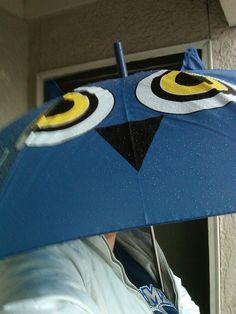 Owl umbrella....with ears!