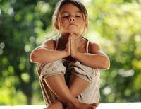 How Yoga Helps Kids Deal With Stress (Infographic)