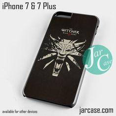 The witcher 3 wild hunt Phone case for iPhone 7 and 7 Plus