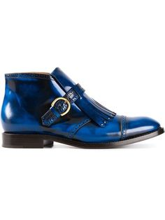 Shop Marc Jacobs fringed brogue detail boot in O' from the world's best independent boutiques at farfetch.com. Over 1000 designers from 60 boutiques in one website.