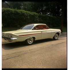 1961 Chevy Impala, ca. 1961 | From my dad's negatives. I thi… | Flickr