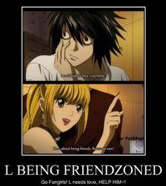 friendzone level: death note