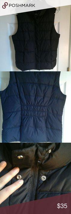 Gap Black vest Black vest. Brand gap. Size M . Excelent conditions I used once GAP Jackets & Coats Vests