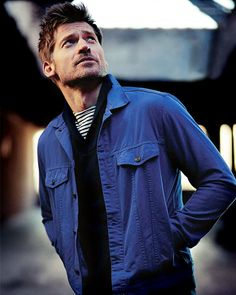 Nikolaj Coster-Waldau photographed by James Dimmock for Esquire UK (April 2014)