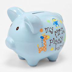 First piggy bank    #piggybank  #shopko