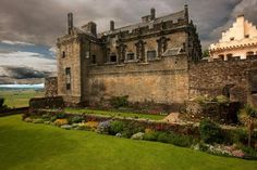 Stirling Castle, Scotland. The first record of Stirling Castle dates from around 1110, when King Alexander I dedicated a chapel here.  One of the largest and most important castles in Scotland, both historically and architecturally. Open to the public year round.