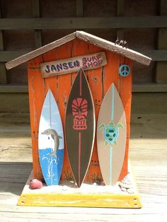 Surf Shack Bank with Customized Name